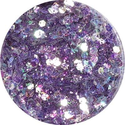 Polvere Extra Glitter Viola Scuro