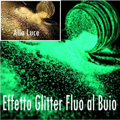 Polvere Glitter Fluorescente