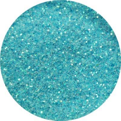 Polvere Glitter Media Celeste