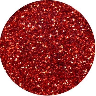 Polvere Media Glitter Rosso