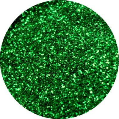 Polvere Media Glitter Verde