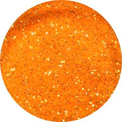 Polvere Neon Glitter Arancione Chiaro