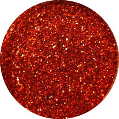 Polvere Super Glitter Rosso