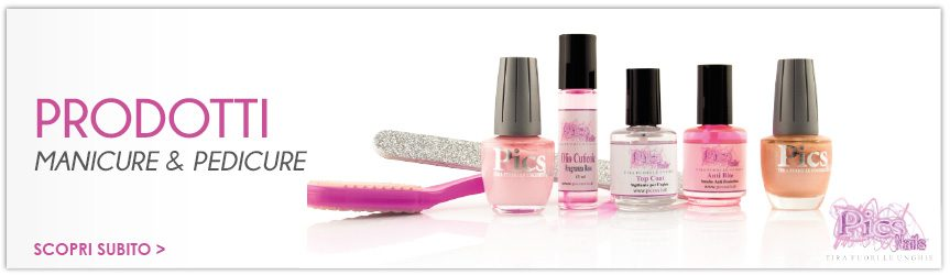 Prodotti Manicure e Pedicure Professionali Online Pics Nails
