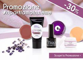 #Ripartiamoinsieme, Scopri la Promozione -30% di Maggio!