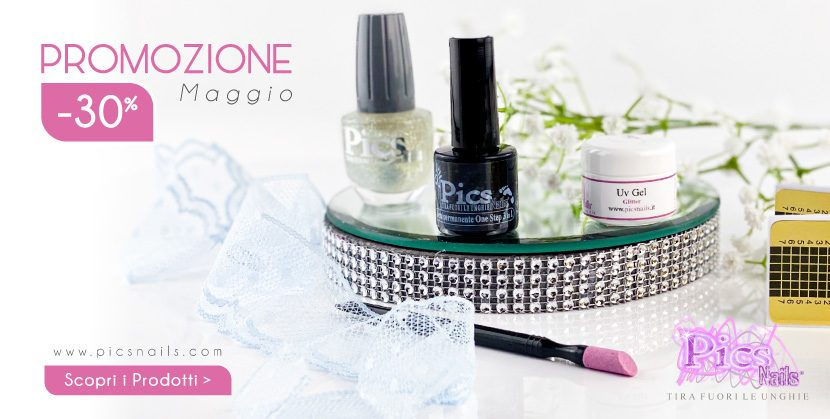 Promozione Maggio - 30 Pics Nails