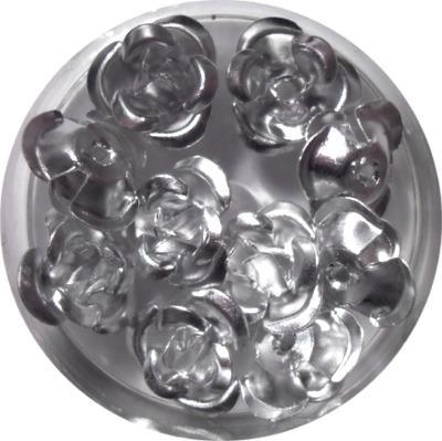 Rose in Alluminio Argento
