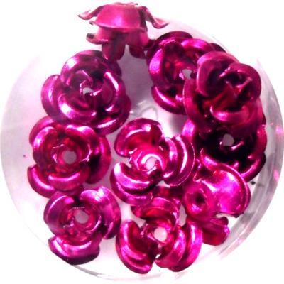 Rose in Alluminio Fuxia