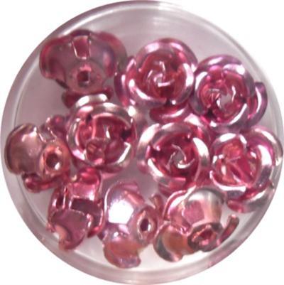 Rose in Alluminio Rosa