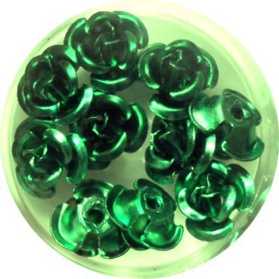 Rose in Alluminio Verde