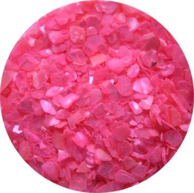 Scaglie di Conchiglia Rosa Fluo