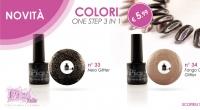 Scopri i Nuovi Colori Semipermanente One Step 3in1 Pics Nails