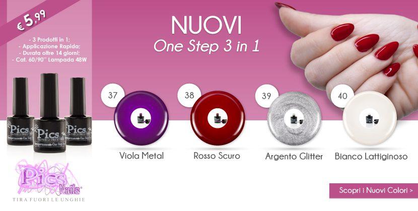 Scopri Subito i NUOVI Colori One Step 3 in 1!!