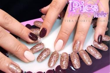 Semigel Mani Pics Nails
