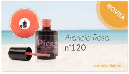 Smalto Semipermanente Arancio Rosa 120