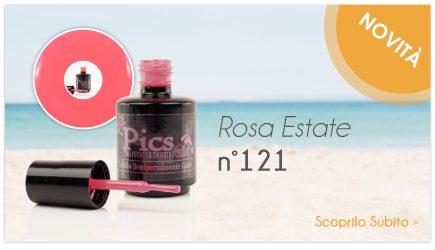 Smalto Semipermanente Rosa Estate 121