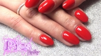 Semipermanente Rosso Pics Nails