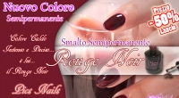 semipermanente rouge noir pics nails