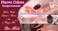 semipermanente rouge noir pics nails