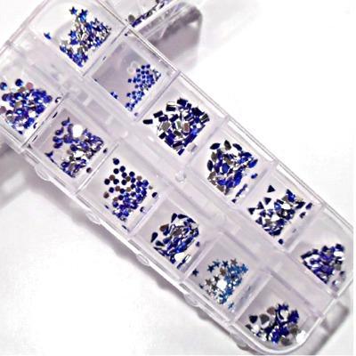 Set di Strass Blu