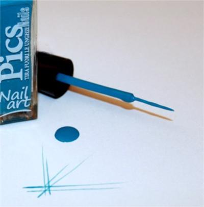 smalto nail art Celeste 10