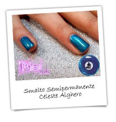 Smalto Semipermanente Celeste Alghero Pics Nails
