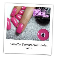 Smalto Semipermanente Fuxia Pics Nails