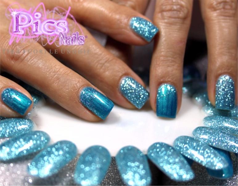Semipermamente glitter pics nails for Immagini con brillantini