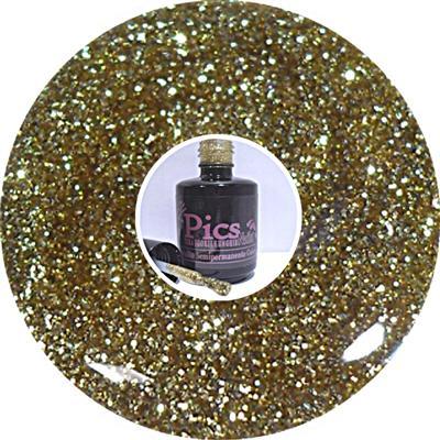 Smalto Semipermanente Glitter oro 78