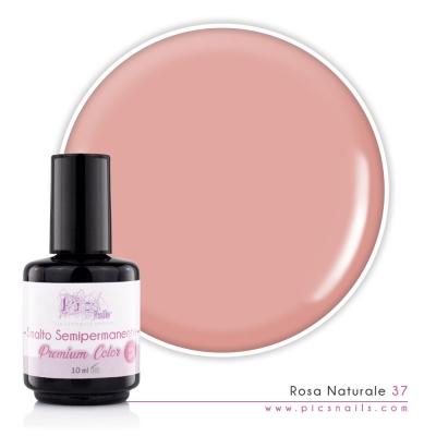 Smalto Semipermanente Rosa Naturale Laccato 37 10 ML