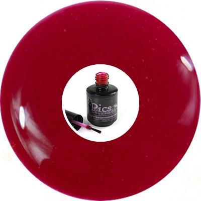 Smalto Semipermanente Rosso Glam Glitter 1