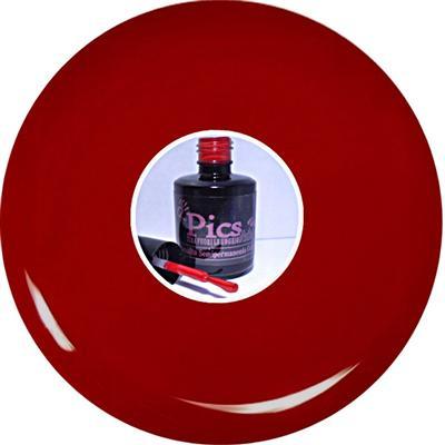 Smalto Semipermanente Rosso Scuro Laccato 65