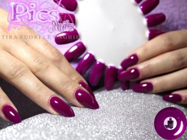 Smalto Semipermanente Viola Neon