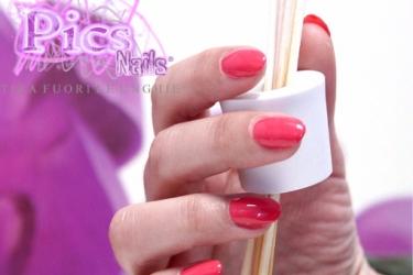 Smalto Semipermanentne 3in1 Corallo Rosa Pics Nails