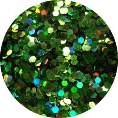 Specchietti Verde Olografic