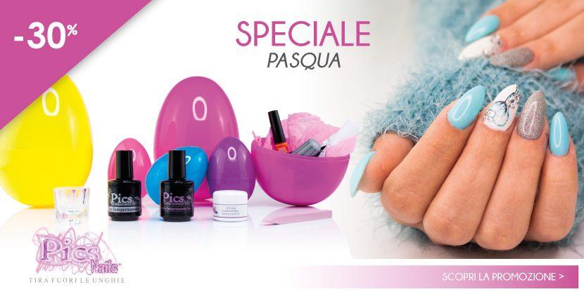 Speciale -30% Pasqua! Scopri la NUOVA PROMOZIONE Pics Nails