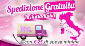 Banner Spedizione Prodotti per Unghie Gratis in tutta Italia
