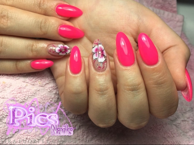 Spring Gel Nail Art | Pics Nails