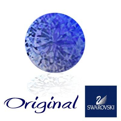 Swarovski Crystal Metal Blue