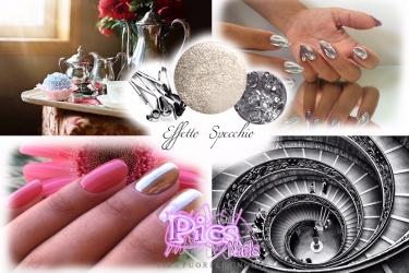 Tendenze unghie autunno 2016 pics nails - Unghie effetto specchio polvere ...
