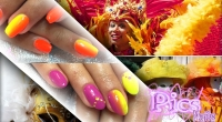 tendenze unghie nail art carnevale