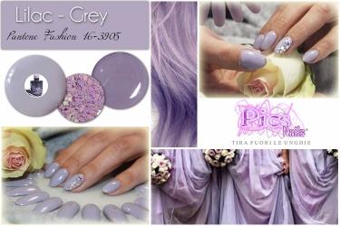 Tendenze Unghie Primavera Lilac Grey