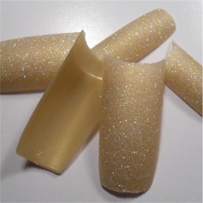 Tips Oro Olografic Glitter
