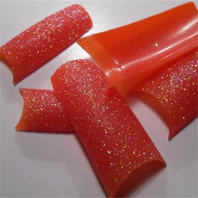 Tips Rosso Glitter