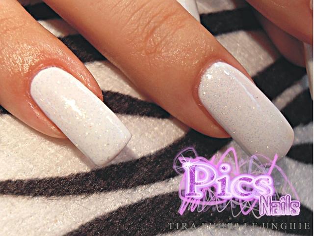 Super Unghie Bianche | Pics Nails SZ63