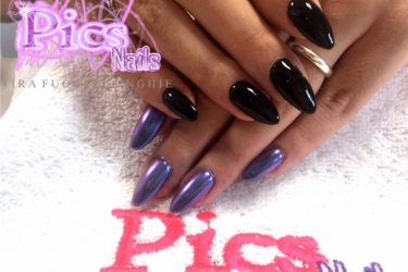 unghie camaleonte pics nails