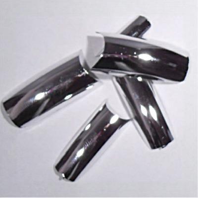 Unghie colorate silver effetto specchio pics nails - Specchio ad unghia ...
