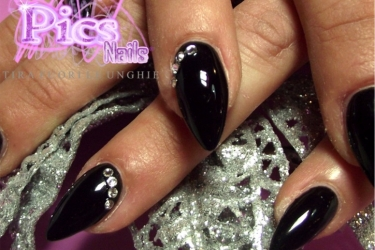 unghie dark halloween