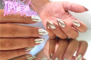 Unghie Effetto Specchio Pics Nails