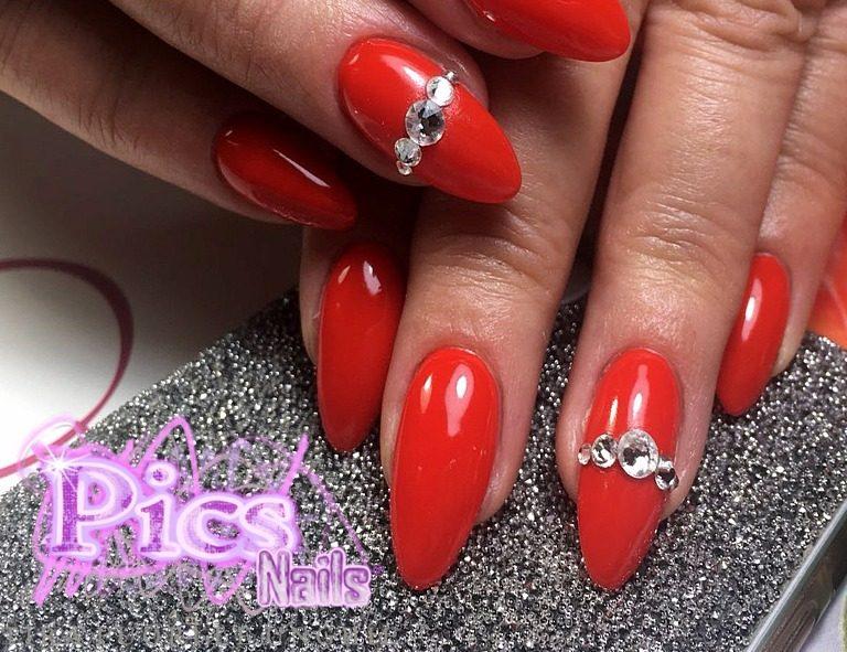 Immagini unghie gel pics nails for Immagini con brillantini